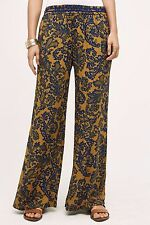 NWT Anthropologie Tana Wide-Legs By Hei Hei Size Medium Sz M Pants Paisley