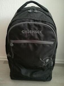 """Chiemsee Tasche mit Rollen Wheely Trolley mit Notebookfach 17"""" Höhe 54cm Schwarz"""