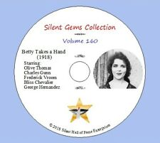 """DVD """"Betty Takes a Hand"""" (1918) starring Olive Thomas, Classic Silent Comedy"""