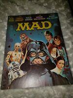 MAD Magazine #196 January '78 Star Wars Movie Cover Darth Luke Han Chewbaca Leia