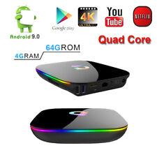 QBOX+ HDR Google Play Cloud 64GB/4GB DDR3 WiFi Android 9.0 Smart TV Media Box