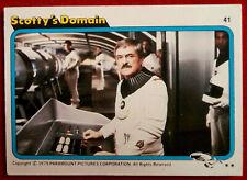 STAR TREK - MOVIE - Card #41 - SCOTTY'S DOMAIN - TOPPS 1979