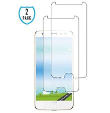 For Motorola Moto Z2 Z Force Tempered Glass Screen Protector Full Coverage 2 PC