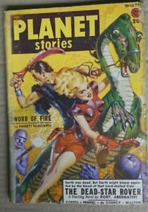 Star Ship Presents Planet Stories Winter 1949 Vol 4 #5 US Edition