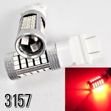 Front Signal Light 63 LED Bulb Red T25 3157 3057 4157 B1 For Saturn A