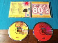 Fantastic 80's T.X.T./Wham/Dead or Alive/Europe/Fiction Factory 2X Cd Ottimo
