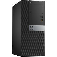 Dell Optiplex 7040 Mini Tower Core i7-6700 3.4GHz 16GB 256GB SSD WiFi Win10 Pro