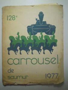 128e Carrousel de Saumur, Revue École de cavalerie du Carrousel de Saumur 1977