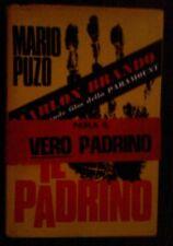 MARIO PUZO . IL PADRINO , 1970 CON FASCETTA RARISSIMA