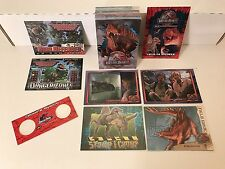 JURASSIC PARK 3 Inkworks Complete Card Set + SMALL 3-D VIEWER & PROMO #JP3D-1