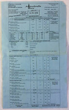 2011 A CINDERELLA STORY 3 Set-Used CALL SHEET  ~ Lucy Hale, Freddie Stroma