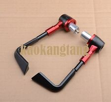 Red Brake clutch levers guard bar end for Yamaha YZF R1 R6 R15 R125 R25 R3