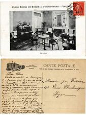 CPA Grand Hotel de Russie et d'Angleterre MARSEILLE Le Salon (378387)