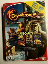 Drakensang RPG Pack River of Time Phileassons Secret & 4 Bonus PC Games NEW!
