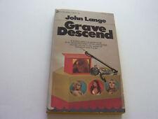 GRAVE DESCENT  1970   JOHN LANGE   HE HAS TO SWIM DEEP WHILE LEERY OF THE LADIES