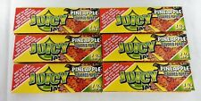 6 Packs JUICY JAY'S  1 1/4 Rolling Papers Pineapple Free Ship