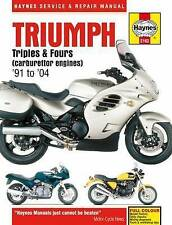 Haynes TRIUMPH triplica & Zampe CARBURATORE MOTORI MOTO OFFICINA MANUALE BO