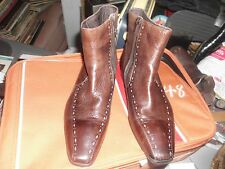 ACQUILA LEATHER BOOTS  SIZE 39