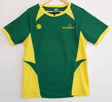 SOCCEROOS Australia Green & Yellow Football Soccer Supporter TShirt Size L