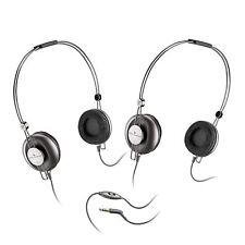 Altec Lansing UHP304 AirFit On Ear Stereo Headphones Black 2 Pack