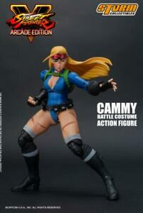 Street Fighter V Cammy Battle costume 1/12 action figure Storm Collectibles