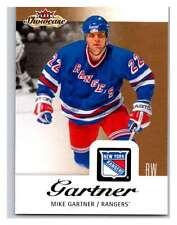 (HCW) 2013-14 Upper Deck Fleer Showcase #61 Mike Gartner NY Rangers NHL Mint