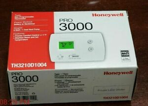 Honeywell Pro 3000 TH3110D1008 Non-Programmable Digital Thermostat / White