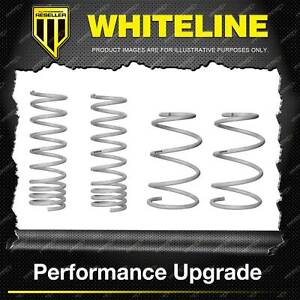 Whiteline Front + Rear Coil Springs - Lowered for Ford Focus LW LZ
