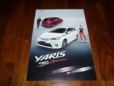 Toyota Yaris TRD Sportivo folleto tailandia