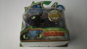 HOW TO TRAIN YOUR DRAGON HIDDEN WORLD MINI DRAGONS TOOTHLESS BLUE STRIPE NEW V#3