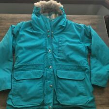 Vintage Woolrich Womens Winter Coat Parka Fur Hood Jacket Sz Medium M