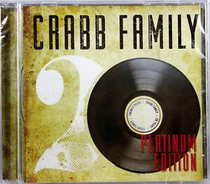 Crabb Family 20 Years Platinum Edition NEW CD Christian Southern Gospel Music