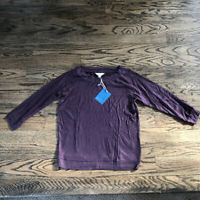 Market & Spruce Womens Plum Purple Sweater Knit Top NWT Size S, M, L, XL
