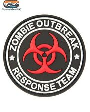 Zombie Outbreak Response Team Special Forces Badge Airsoft Morale FREE DELIVERY
