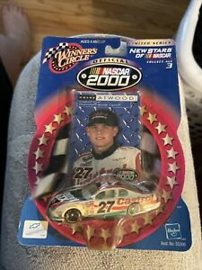 2000 CASEY ATWOOD #27 Castrol New Stars Winner's Circle 1/64 Scale NASCAR car