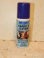 New Nikwax 4.2 fl ounce fabric & leather waterproofing wax