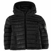 SoulCal Kids Boys Cal MicroBbleHd IB94 Puffer Jacket Coat Top