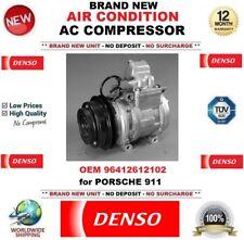 DENSO ARIA CONDIZIONATA COMPRESSORE AC ORIGINALE 96412612102 PER PORSCHE 911