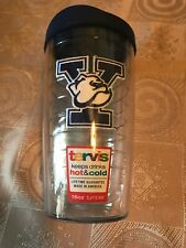 Tervis Yale Bulldogs 16 oz Navy Blue Tumbler Lid Hot,Cold Lifetime Guarantee NEW