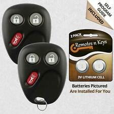 2 For 2002 2003 2004 2005 2006 2007 2008 2009 GMC Envoy Remote Control Key Fob