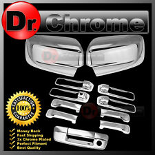 09-15 Dodge Ram Chrome Mirror no Light+4 Door Handle+Tailgate w. KH no CM Cover