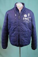 Orig Camp David Jacke blau L/54 Herren vintage Polyamid