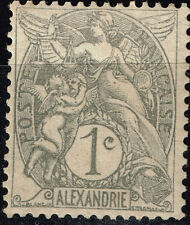 France Office in Alexandria Egypt 1900 classic stamp MLH
