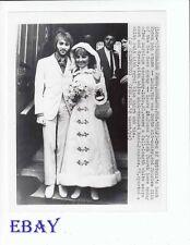 Lulu Maurice Gibb VINTAGE Photo candid