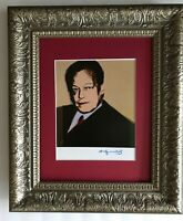 ANDY WARHOL ORIGINAL 1984 SIGNED  WILLY  BRANDT PRINT MATTED 11X14