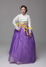 Hanbok Dress Traditional Korean Bride Wedding Modern Hanbok Woman High Waist