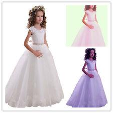 Baptême fille de fleur robede bal robe de soirée de mariage communion Princesse