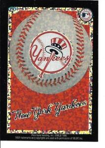New York YANKEES Baseball Vintage Sticker MLB Merchandise