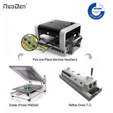 Pick And Place Machine 2 Cameras 30 Feeders Neoden4 Ovenprinter1 Free Stencil