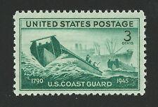 U.S. Coast Guard Achievements World War Ii Ww 2 Commemorative 1945 Stamp Mint!